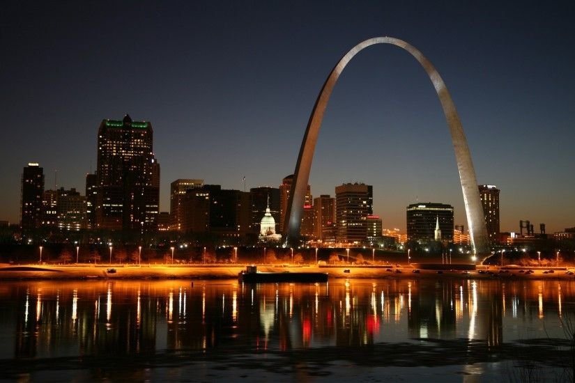 city, Landscape, St. Louis Wallpapers HD / Desktop and Mobile Backgrounds