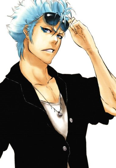 Tags: Anime, AFunny, BLEACH, Grimmjow Jeagerjaques, Mobile Wallpaper