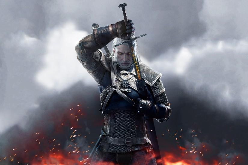 beautiful witcher 3 wallpaper 2880x1800 phone