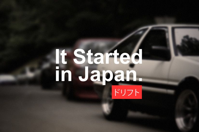 car, Japan, Drift, Drifting, Racing, Vehicle, Japanese Cars, Import,  Tuning, Modified, Toyota, AE86, Toyota AE86, Initial D Wallpapers HD /  Desktop and ...
