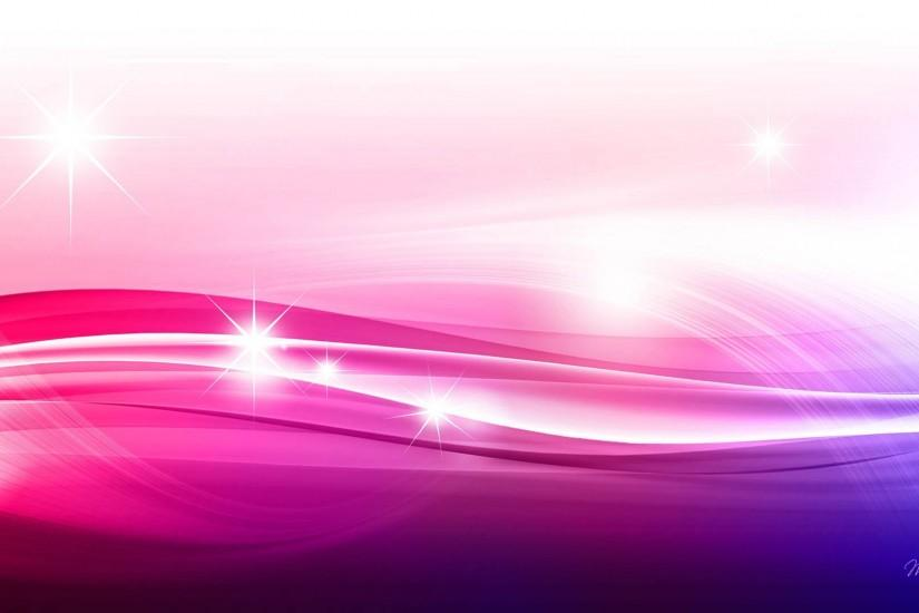 Stars Sparkle Swish Pink PPT Backgrounds