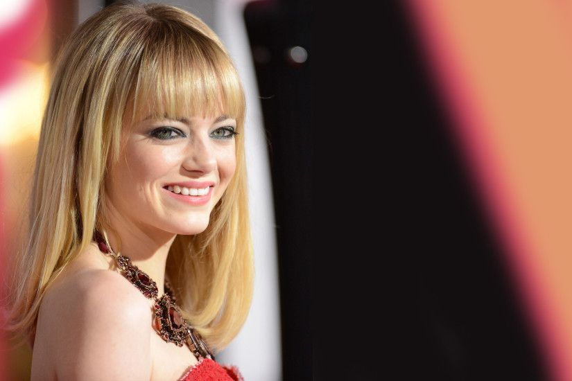 fantastic emma stone attractive hot look face pose desktop laptop free hd  photo background