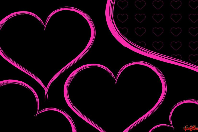 Pink Heart Background Wallpaper, HDQ Beautiful Pink Heart Images .
