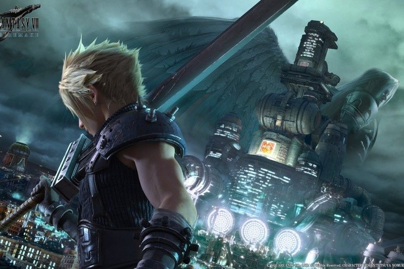 1924x1080 Cloud Strife, Final Fantasy VII, Video games, Midgar, Shinra,  Sephiroth
