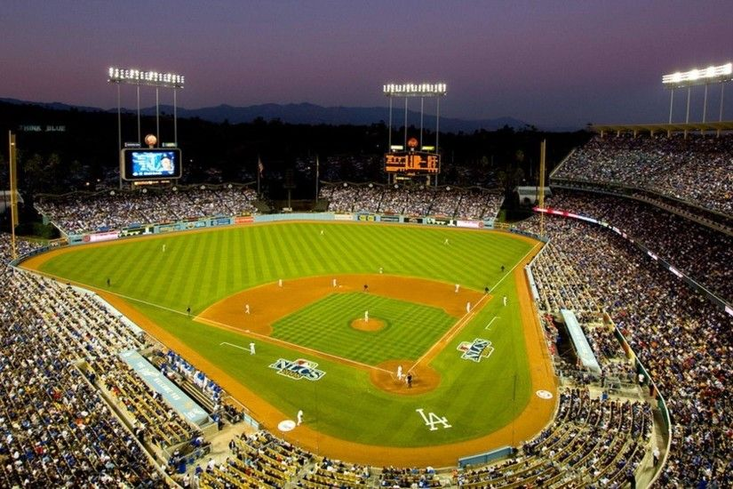 ... Los Angeles Dodgers Stadium Sport Wallpapers HD - Wallpapers HD ...