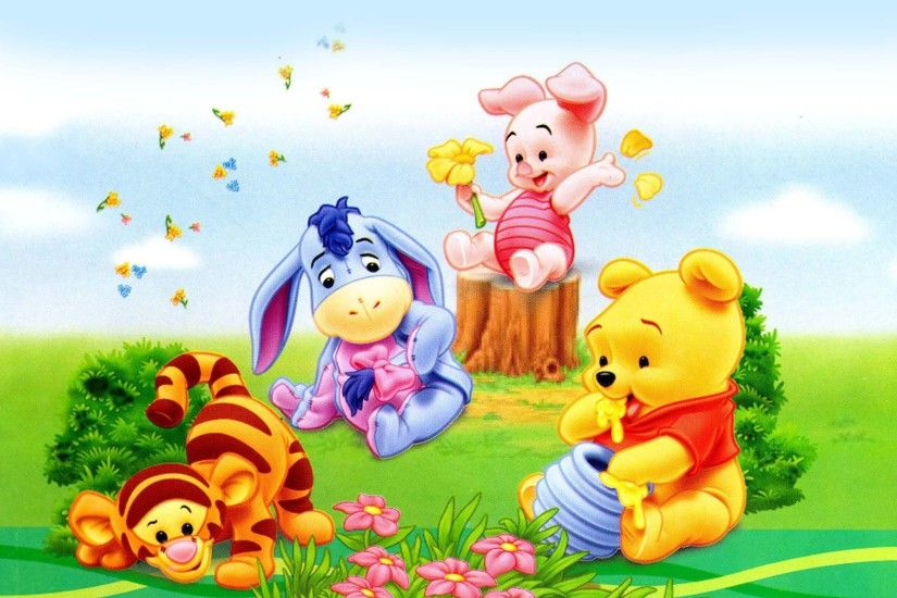 Winnie-the-pooh-and-friends-wallpaper-8 28820 HD Pictures