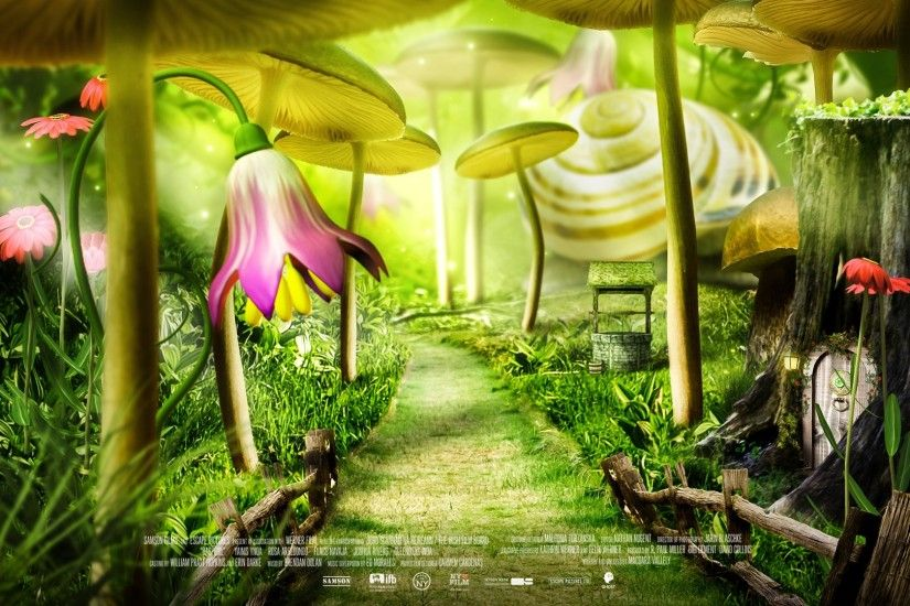... forest fairy tale movie poster wallpapers hd desktop and ...