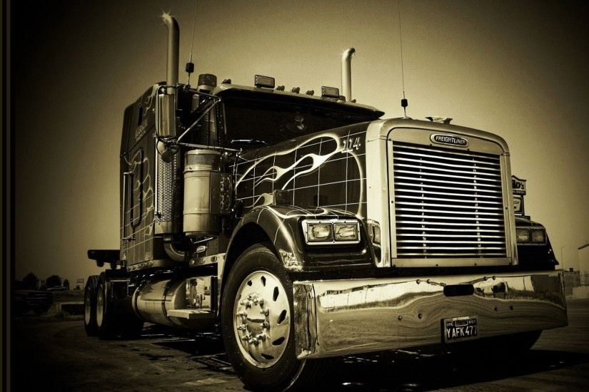 Photo Collection Wallpapers Freightliner Wallpaper Beautiful