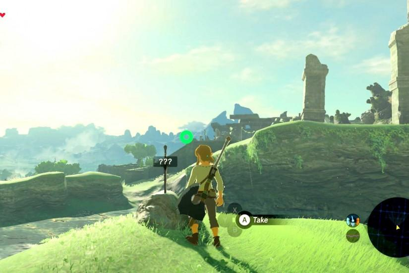 Around this time, the same disembodied voice that woke you from your  slumber will talk again and place a marker on your map. Follow the Sheikah  slate using ...