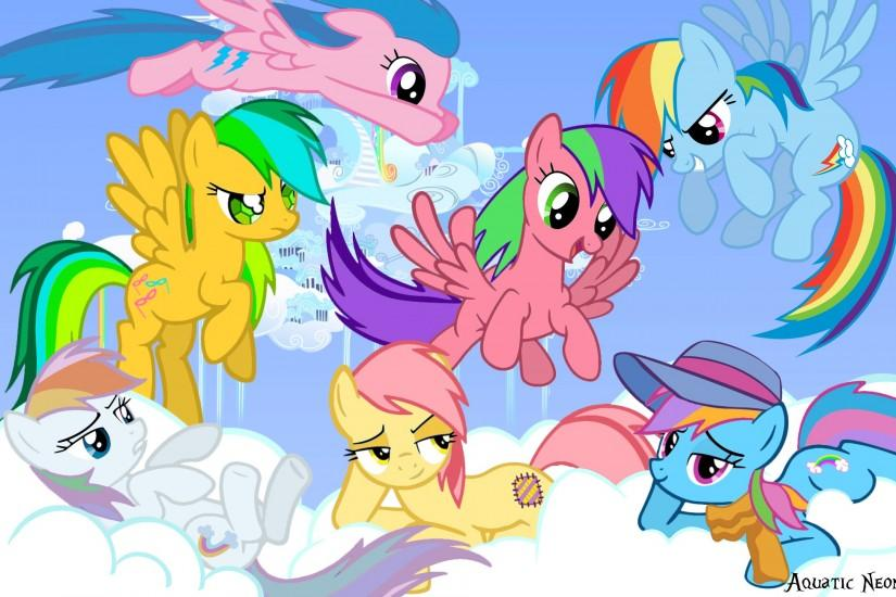 Rainbow Dash and her ancestors - my-little-pony-friendship-is-magic Photo