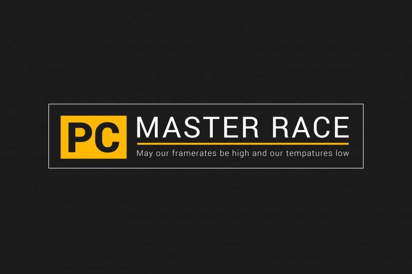pc master race wallpaper 3840x2160 download