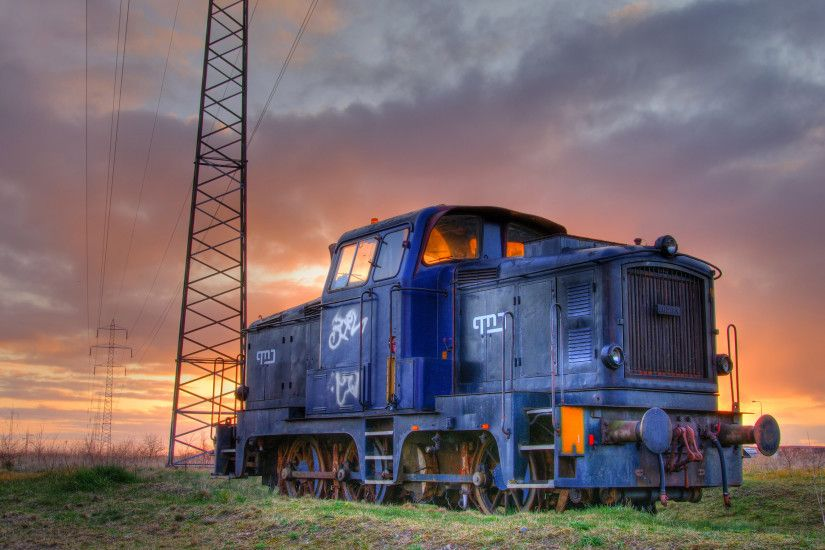 locomotive photography wide wallpaper 49209