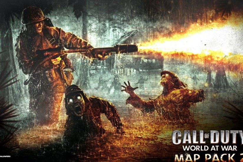 call of duty world at war wallpaper 3/7 | first person shooter .