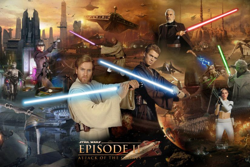 ... Star Wars Episode II - Attack Of The Clones by 1darthvader