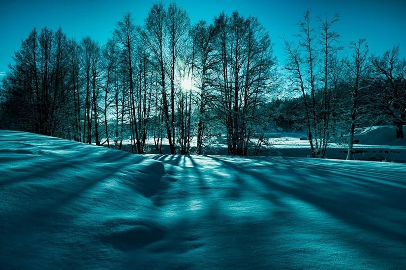 Winter · Landscape snow trees winter nature beauty wallpaper ...