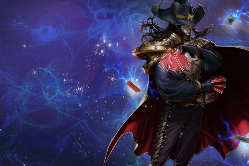 Pics Photos - League Of Legends Twisted Fate Wallpapers .