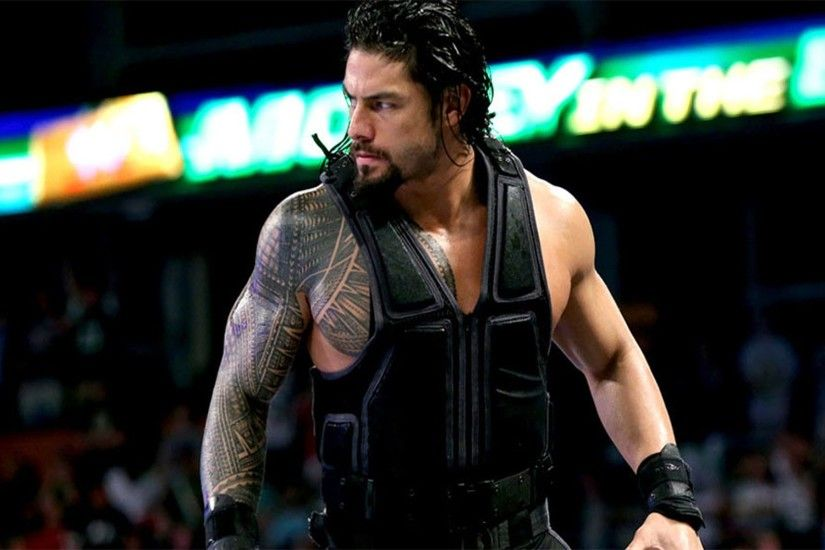 WWE Big Dog Roman Reigns Wallpaper