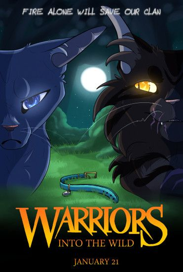 [Warriors] Into The Wild Poster by BRlCK