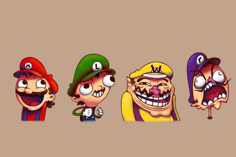 Nintendo, Super Mario, Super Mario Bros., Wario, Waluigi, Luigi Wallpapers  HD / Desktop and Mobile Backgrounds