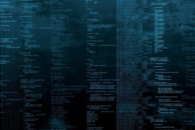 numbers symbol Code Black Coding Programming Blue wallpaper background .