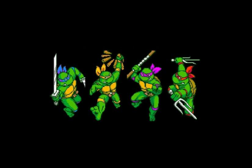 2 Teenage Mutant Ninja Turtles IV: Turtles In Time HD Wallpapers |  Backgrounds - Wallpaper Abyss