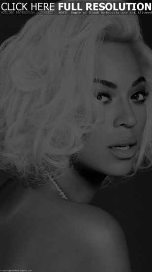 Beyonce Knowles Music Dark Bw Singer Android wallpaper - Android HD  wallpapers