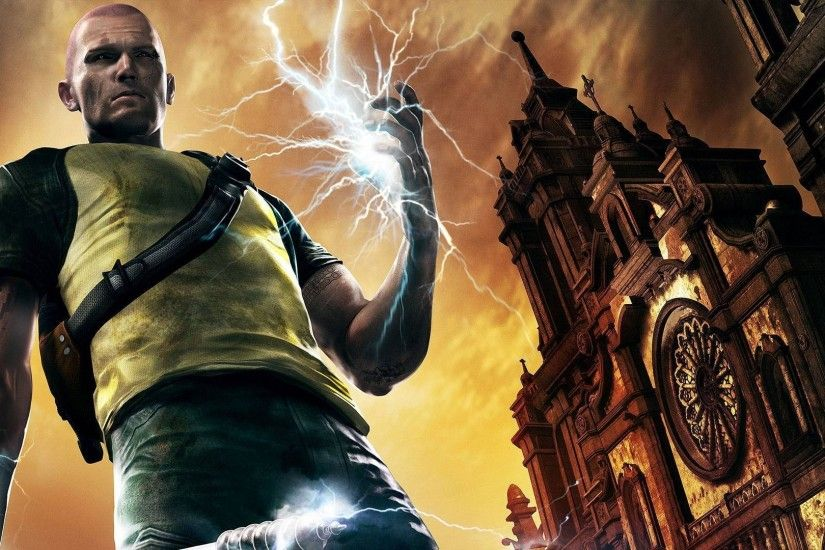video Games, InFamous, Cole MacGrath Wallpapers HD / Desktop and Mobile  Backgrounds