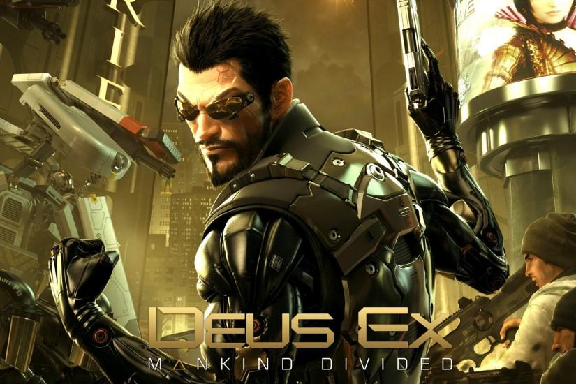 Deus Ex: Mankind Divided Game HD wallpaper