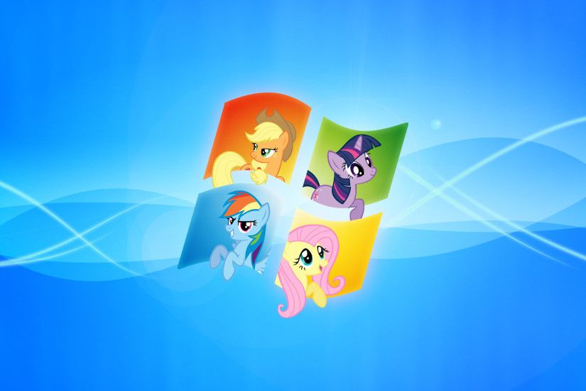 Windows My Little Pony Wallpaper by piranhaplant1 on DeviantArt