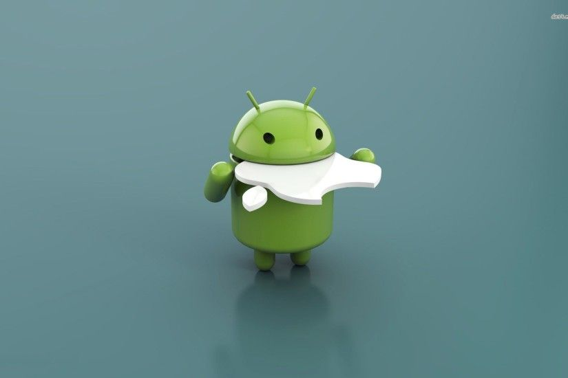 3d · Funny HD Apple vs Android Wallpaper Collections