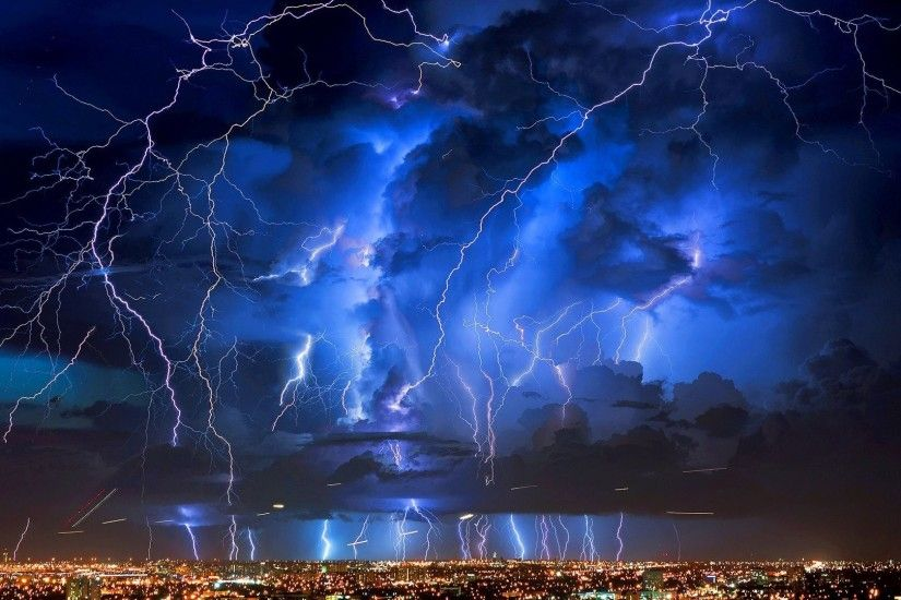 Lightning Tag - Rain Lightning Storm Thunderstorm Clouds Nature Sky Live  Wallpaper For Android Free Download