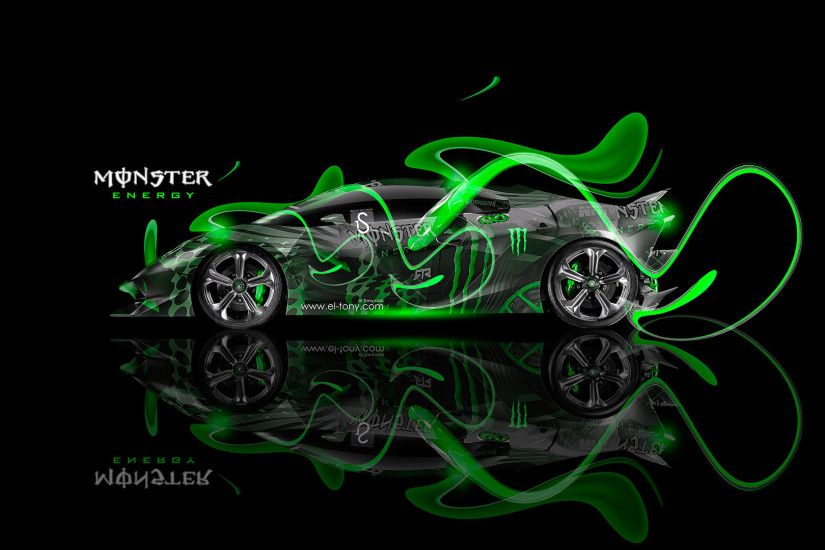 Monster Energy Lamborghini Aventador Fantasy Plastic Car 2013 Monster .