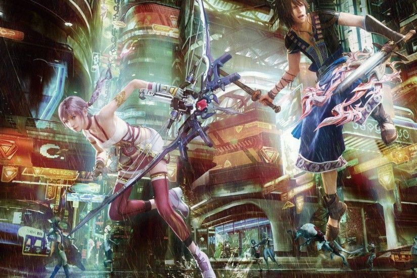 Free Download Final Fantasy Xiii 2 Wallpaper Game Desktop .