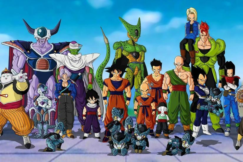 cool dragon ball z background 1920x1080 for mobile hd