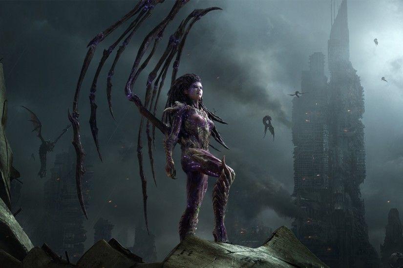 Sci-Fi Fantasy Babes | ... post apocalyptic buildings cities women females  girls
