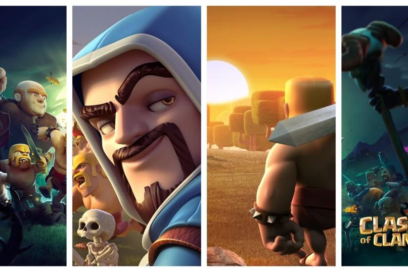 clash of clans wallpaper 2896x1448 for 1080p