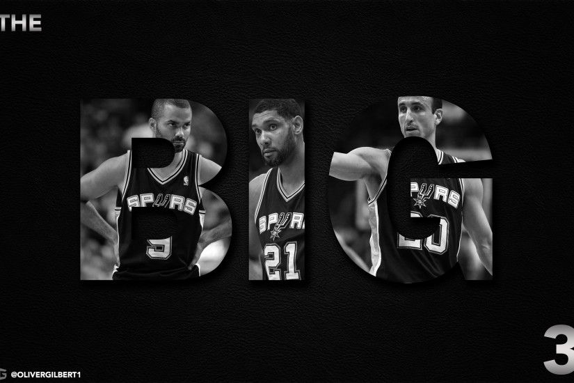 Spurs Big 3 Wallpaper