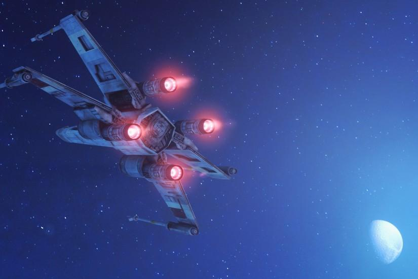 X-Wing · HD Wallpaper | Background ID:725036