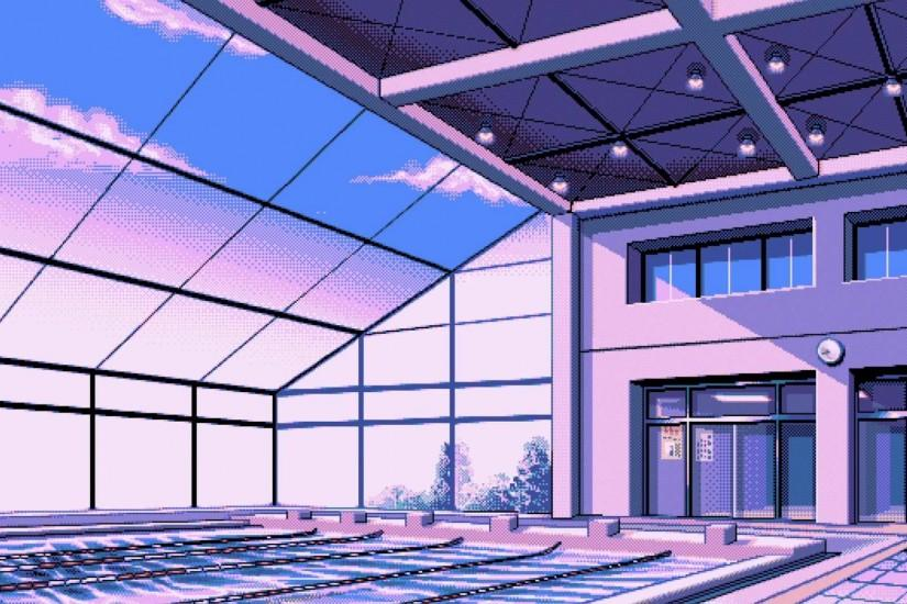 Vaporwave Background ·① Download Free Stunning High