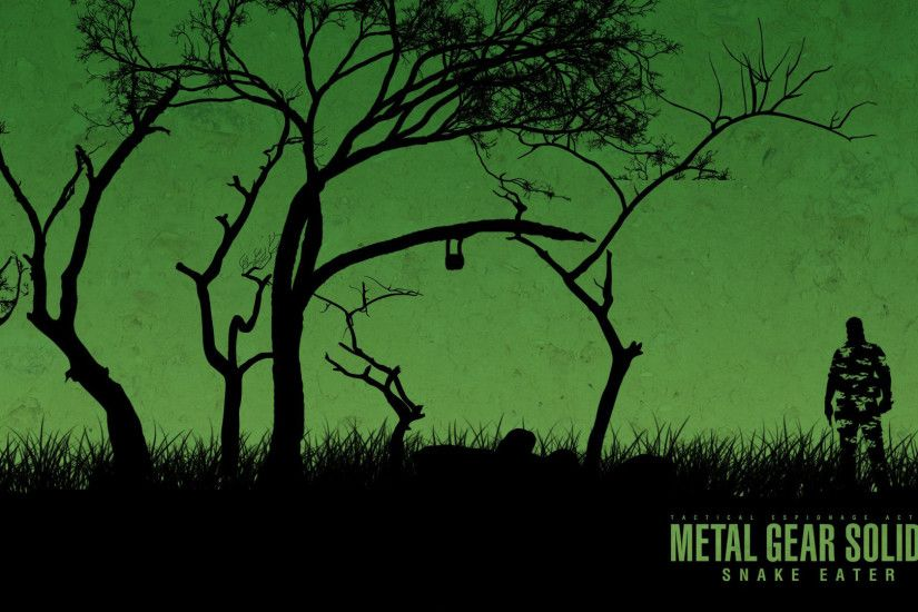 13 Metal Gear Solid 3: Snake Eater HD Wallpapers | Backgrounds .