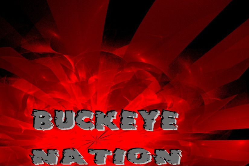 Ohio State Buckeyes images BUCKEYE NATION ON AN ABSTRACT HD wallpaper and  background photos