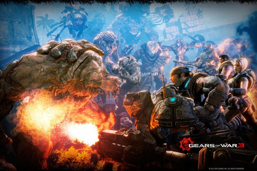Gears of War 3 Battle