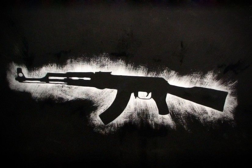 Photo Collection Anime Ak 47 Wallpaper