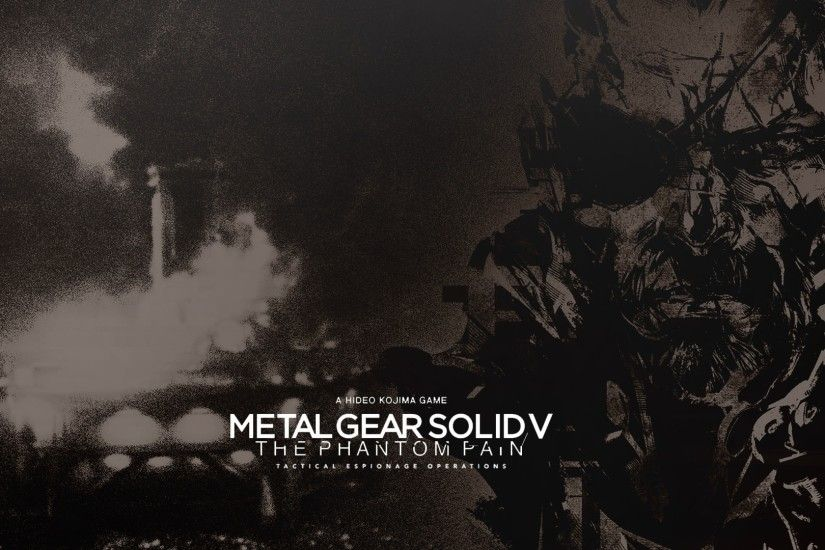 ... Metal Gear Solid V: The Phantom Pain Wallpapers hd