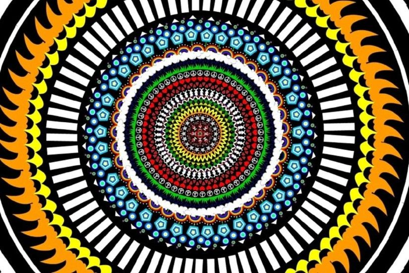 Color Hypnoz Circle, Hypnosis, Optical Illusions