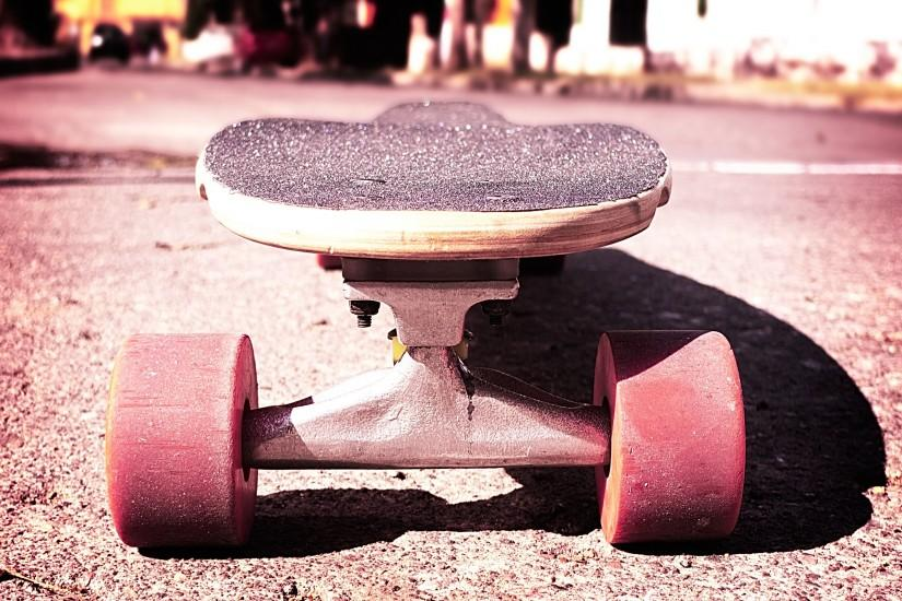 Skateboard Macro Effect Photos.