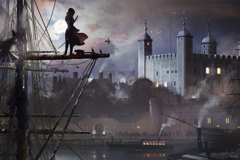new assassins creed syndicate wallpaper 2560x1440