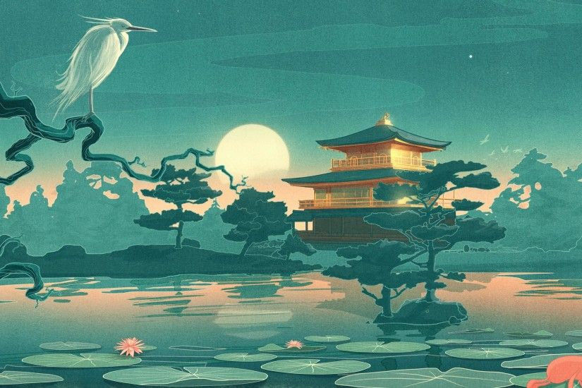 Traditional Samurai Art Wallpapers Widescreen