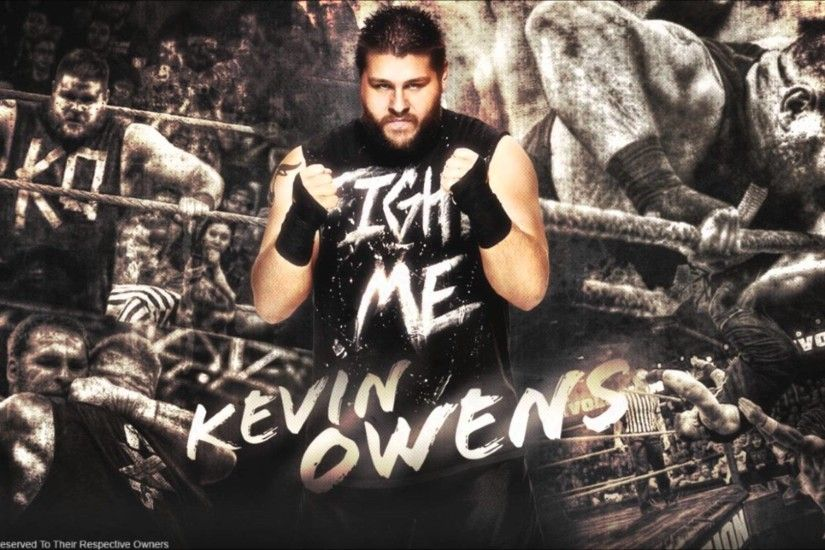 WWE Kevin Owens Theme Fight FULL HQ YouTube