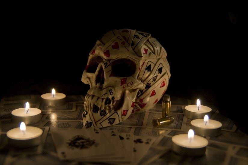Candle Art Hd Wallpaper: Playing Cards Wallpaper ·①